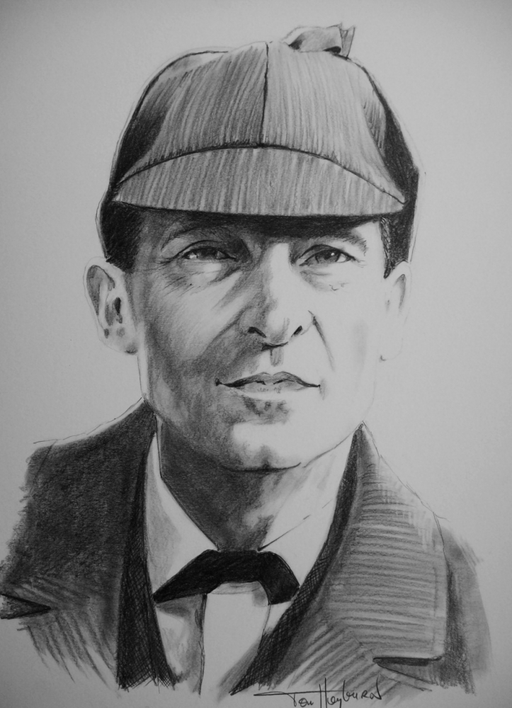 Jeremy Brett by Tom-Heyburn